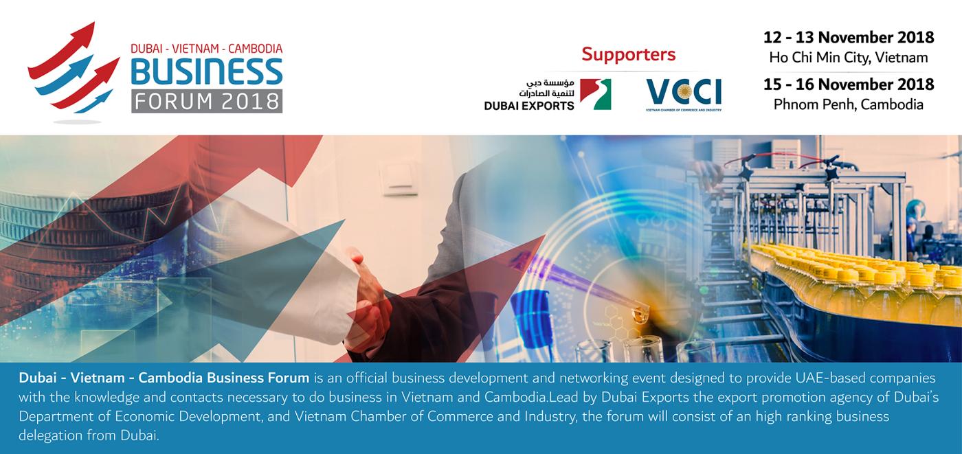 Dubai - Vietnam - Cambodia Business Forum